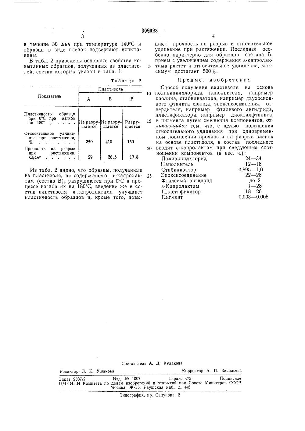 Описание к авторскому свидетельству мастика на основе поливинилхлорида внутренняя гидроизоляция цокольного этажа