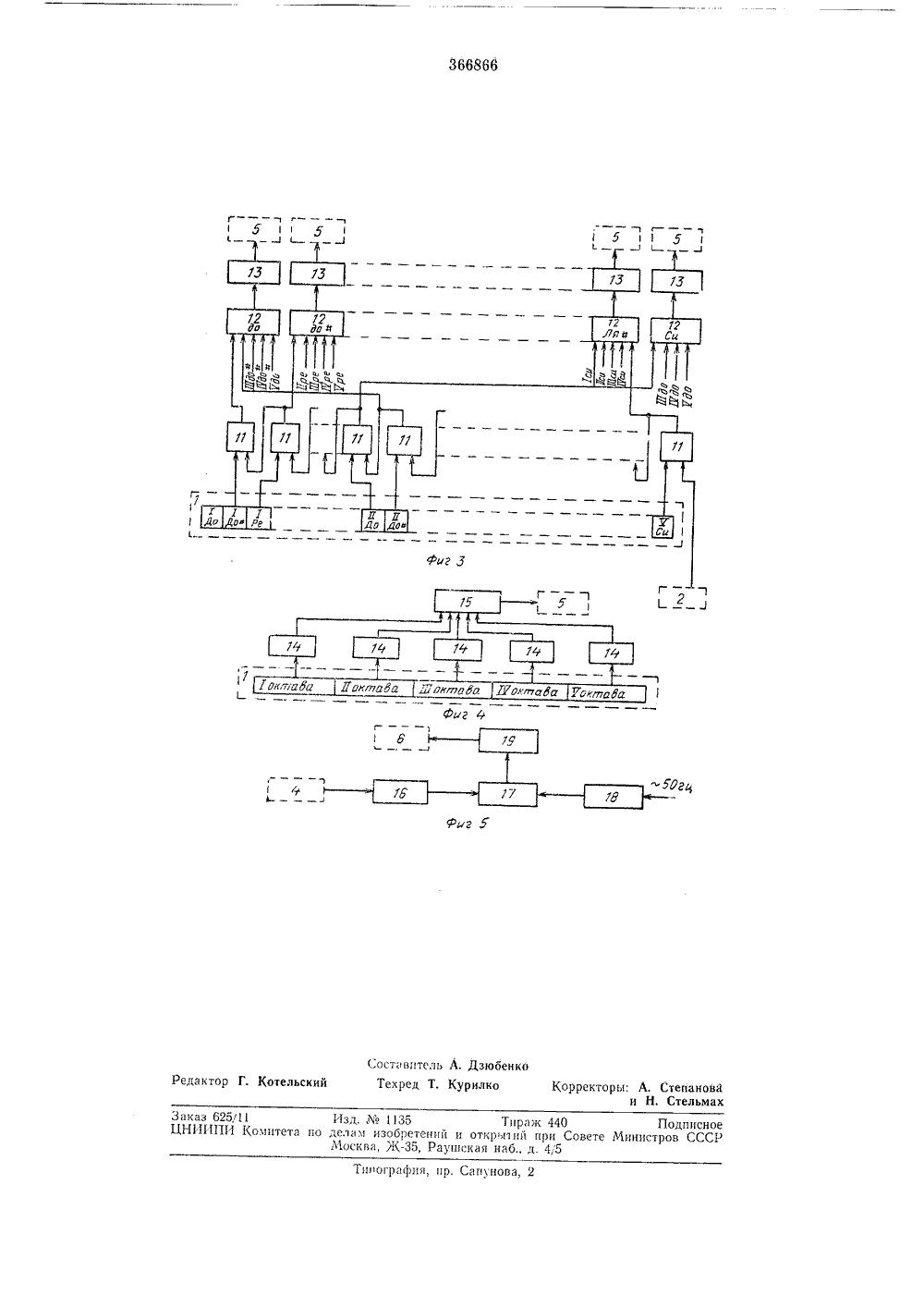цветомузыка(схема) на 3 полярностях