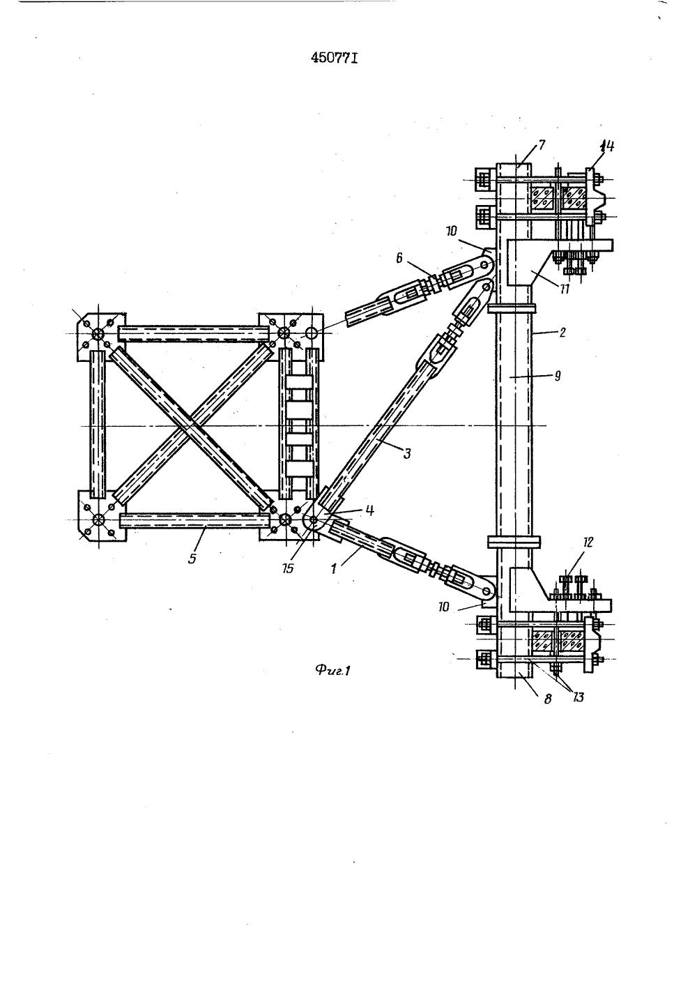 Сборка башенных кранов схема
