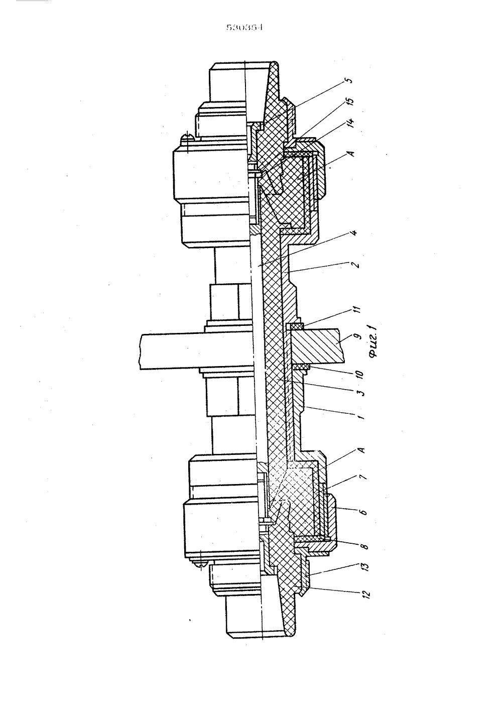 изолятор высоковольтный проходной