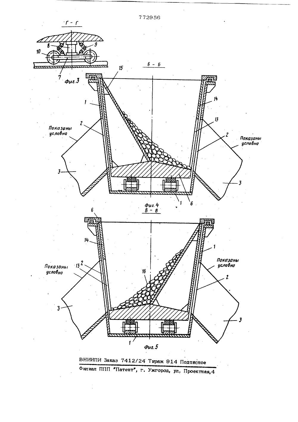 перегрузочные устройства конвейеров