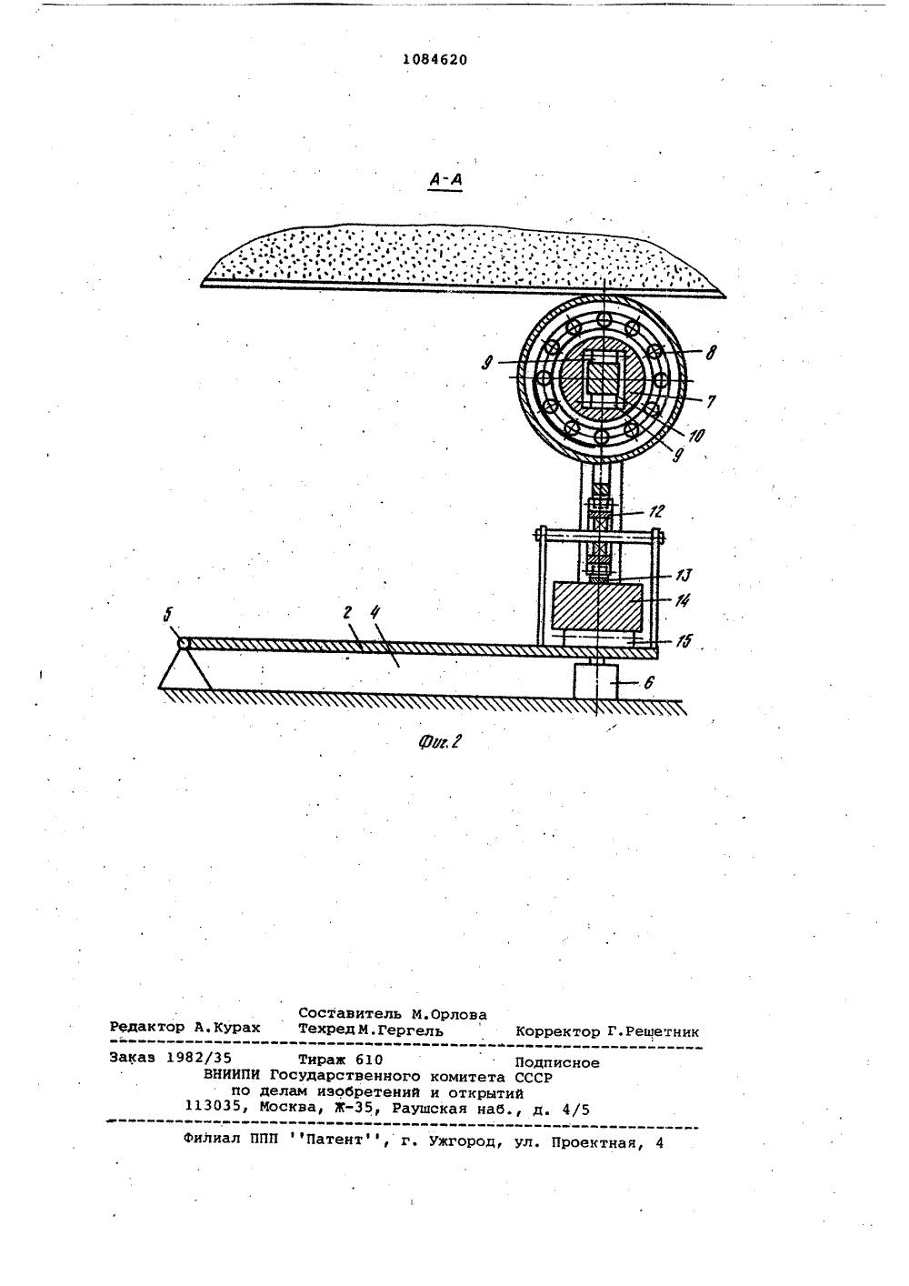 Схема конвейерных весов