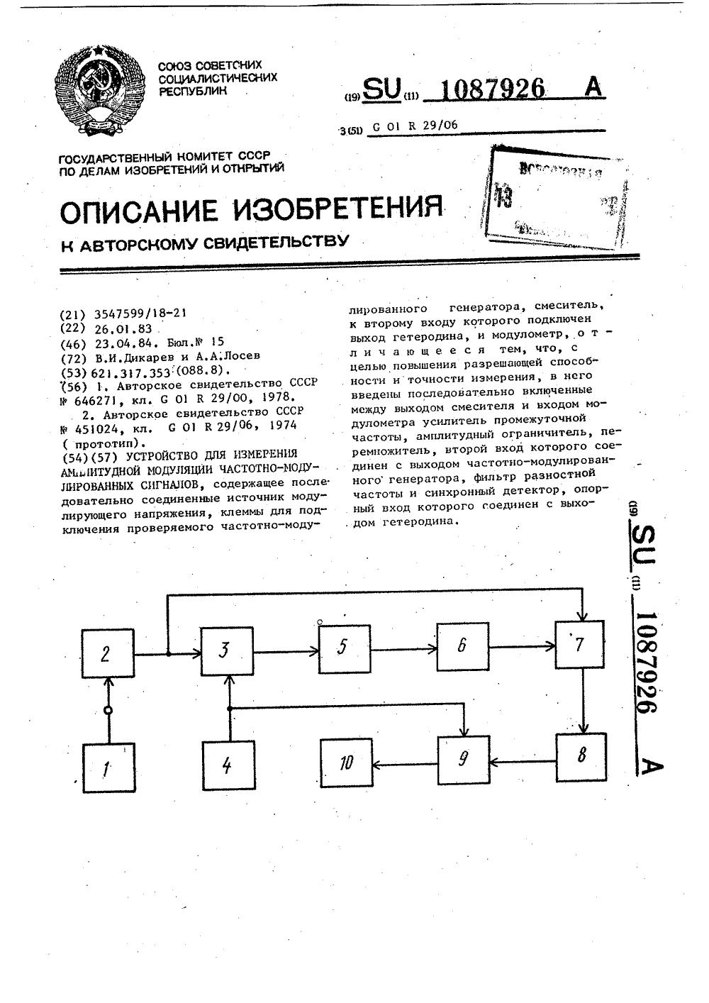 амплитудная модуляция принципиальная схема