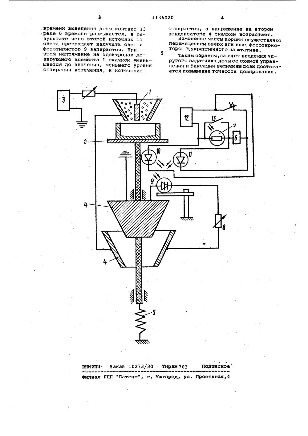 Схемы дозирования сыпучих материалов