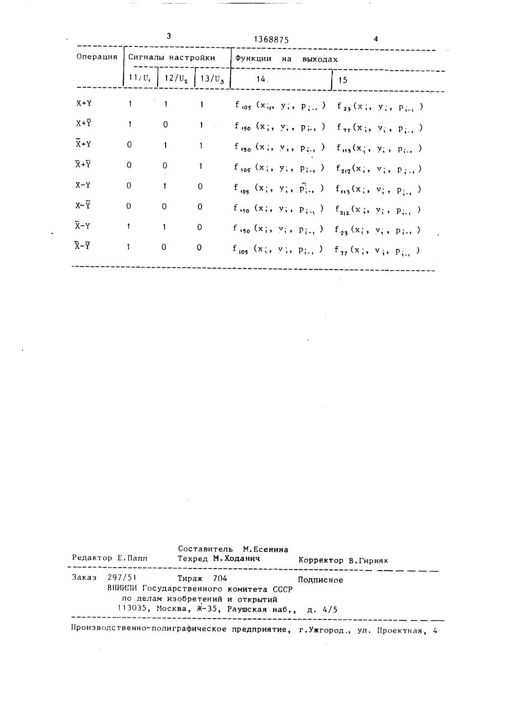 схема вычитателя частот