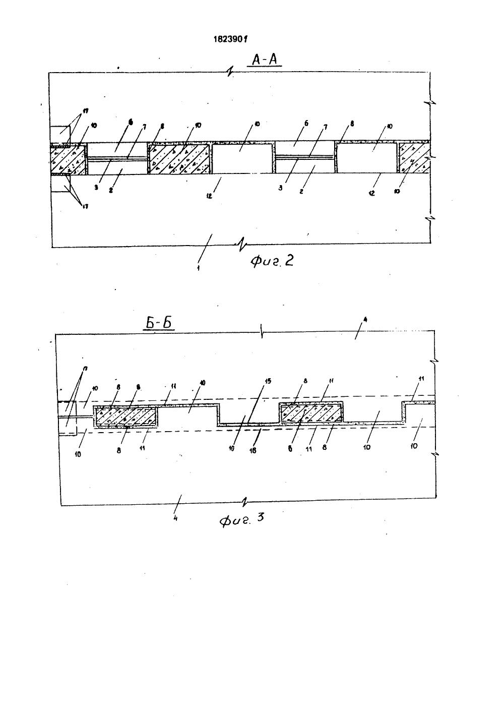 схема монтажа панелей покрытия
